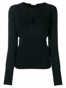 JW Anderson chest pocket sweater - Black