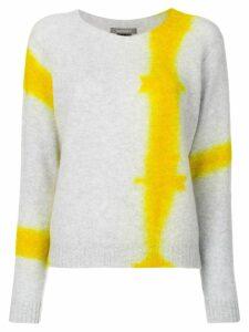 Suzusan tie dye knit jumper - Grey