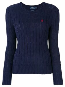 Polo Ralph Lauren cable knit jumper - Blue