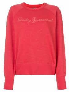 Rag & Bone Quality Guaranteed jumper - Red