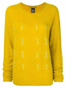 Suzusan relaxed fit jumper - Yellow