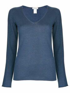 Le Tricot Perugia v-neck sweater - Blue