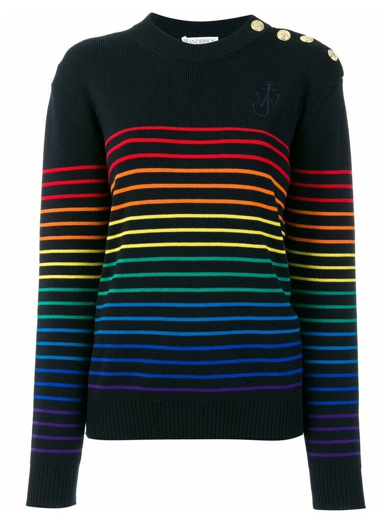 JW Anderson striped sweater - Blue