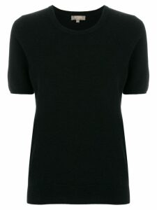 N.Peal round neck T-shirt - Black