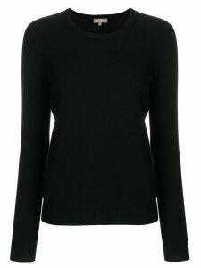 N.Peal round neck sweater - Black