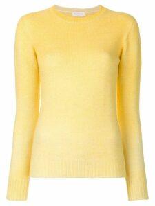Agnona long sleeved knit top - Yellow