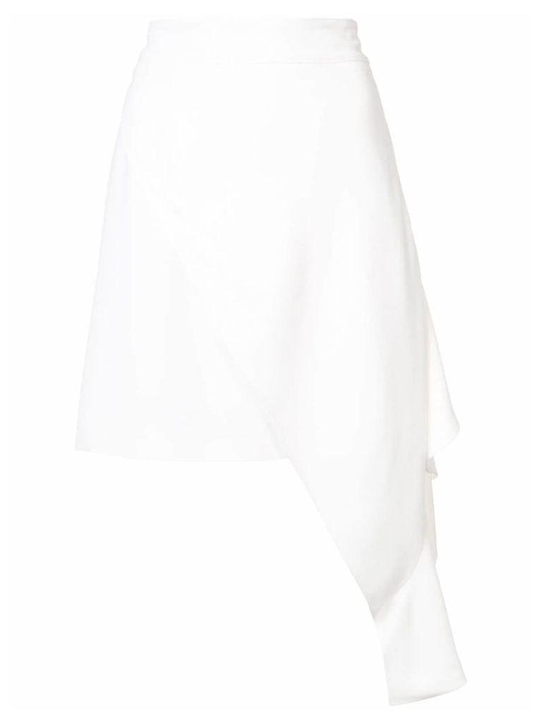 Calvin Klein 205W39nyc asymmetric skirt - White