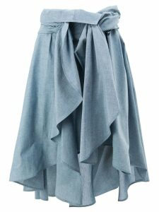 Faith Connexion draped skirt - Blue