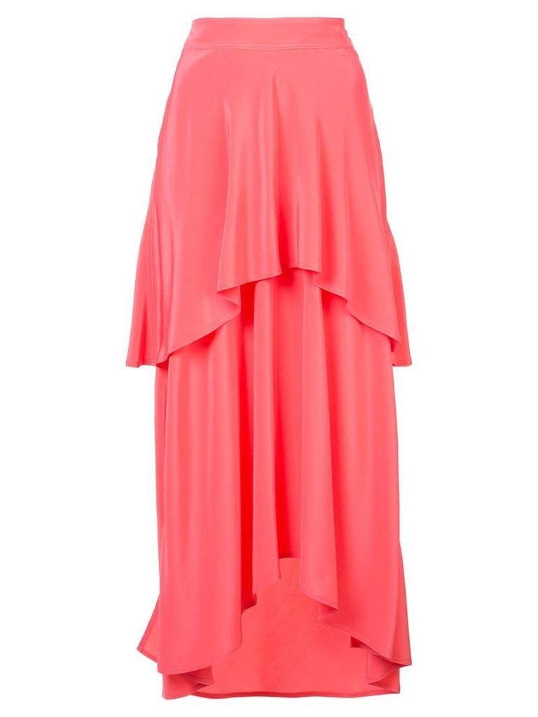 Sies Marjan layered ruffle skirt - Pink