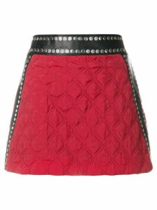 1017 ALYX 9SM quilted pelmet skirt - Red