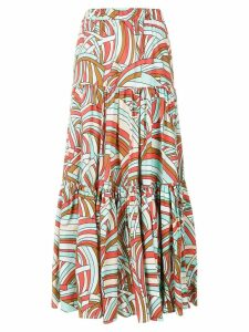 La Doublej Onde skirt - Multicolour