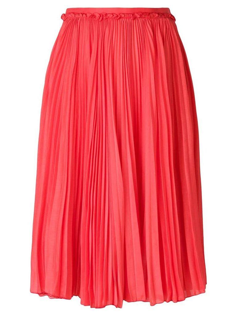 Rochas full midi skirt - Pink