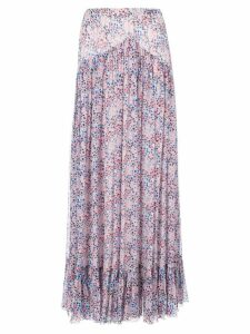 Philosophy Di Lorenzo Serafini star print flared skirt - PINK
