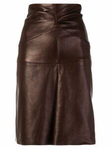 Isabel Marant Gladys skirt - Red
