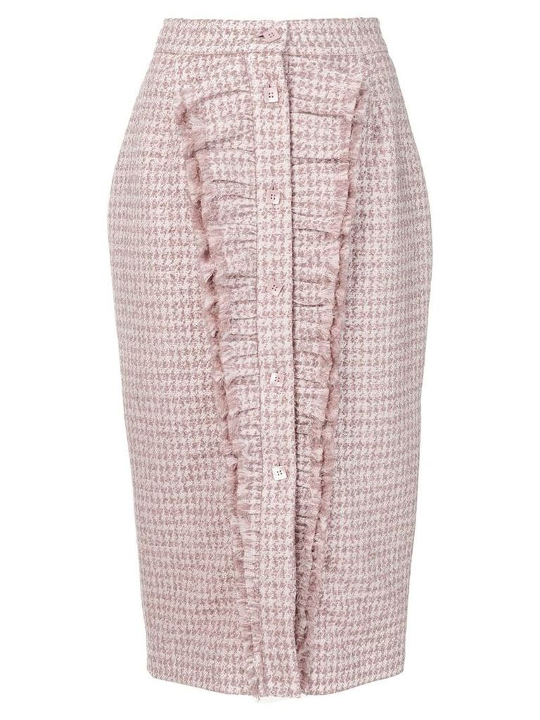 Daizy Shely Pied De Poule skirt - Pink