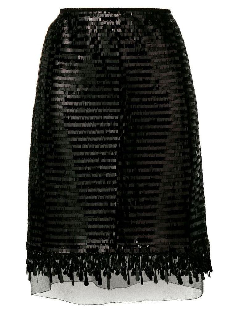 Marc Jacobs sequin skirt - Black