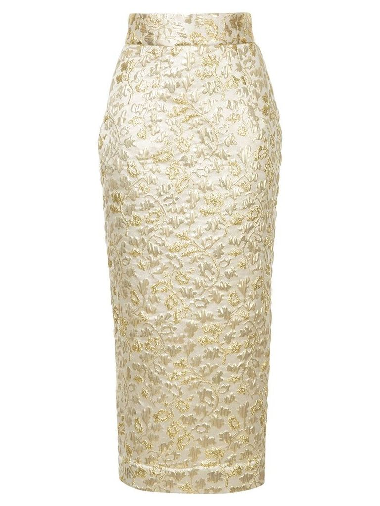 Bambah Sona pencil skirt - Metallic