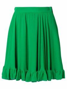 MSGM frill hem skirt - Green
