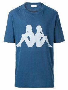 Faith Connexion Faith Connexion x Kappa printed T-shirt - Blue