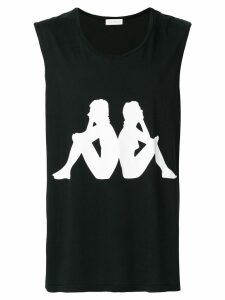 Faith Connexion Kappa sleeveless T-shirt - Black