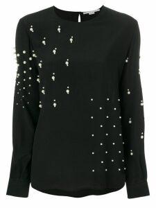Stella McCartney pearl embellished blouse - Black