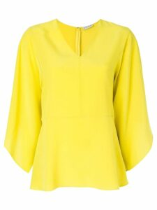 Etro draped shift dress - Yellow