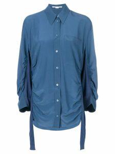 Stella McCartney ruched shirt - Blue