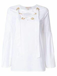 Michael Michael Kors tie-neck blouse - White