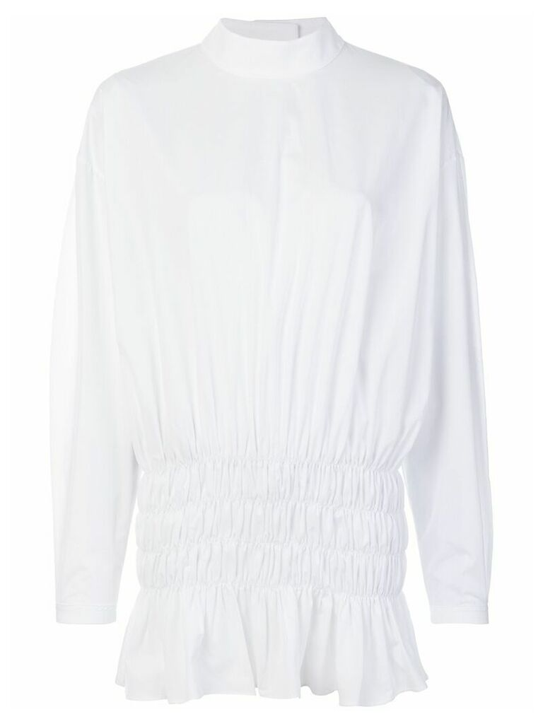 Ellery gathered detail blouse - White