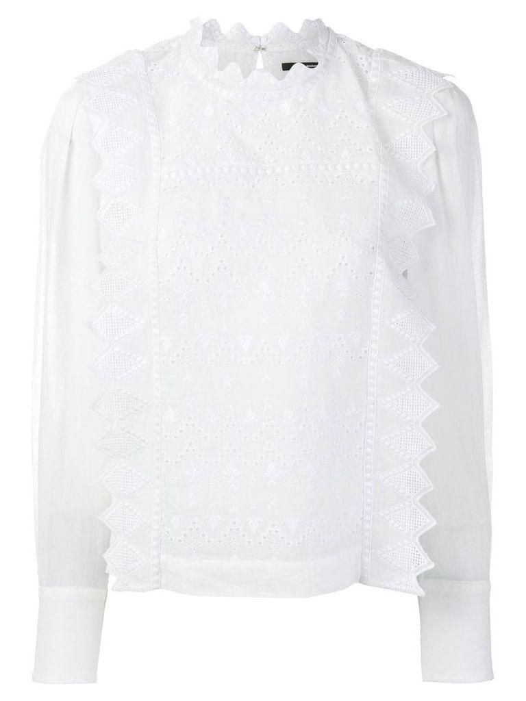 Isabel Marant Nutson blouse - White