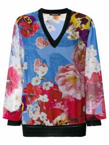 Roberto Cavalli floral print blouse - Multicolour