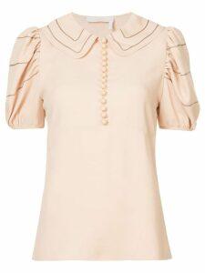 Chloé peter pan collar blouse - Neutrals