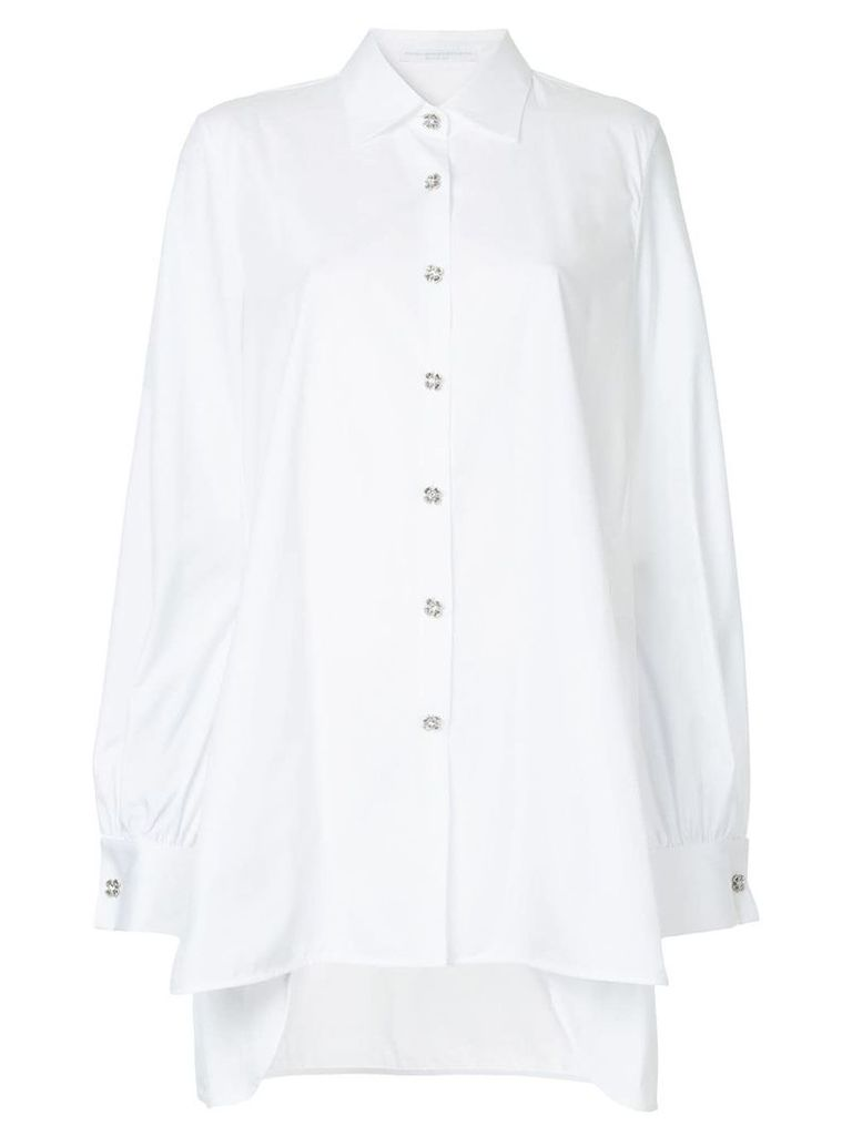 Ermanno Scervino mid-length shirt - White