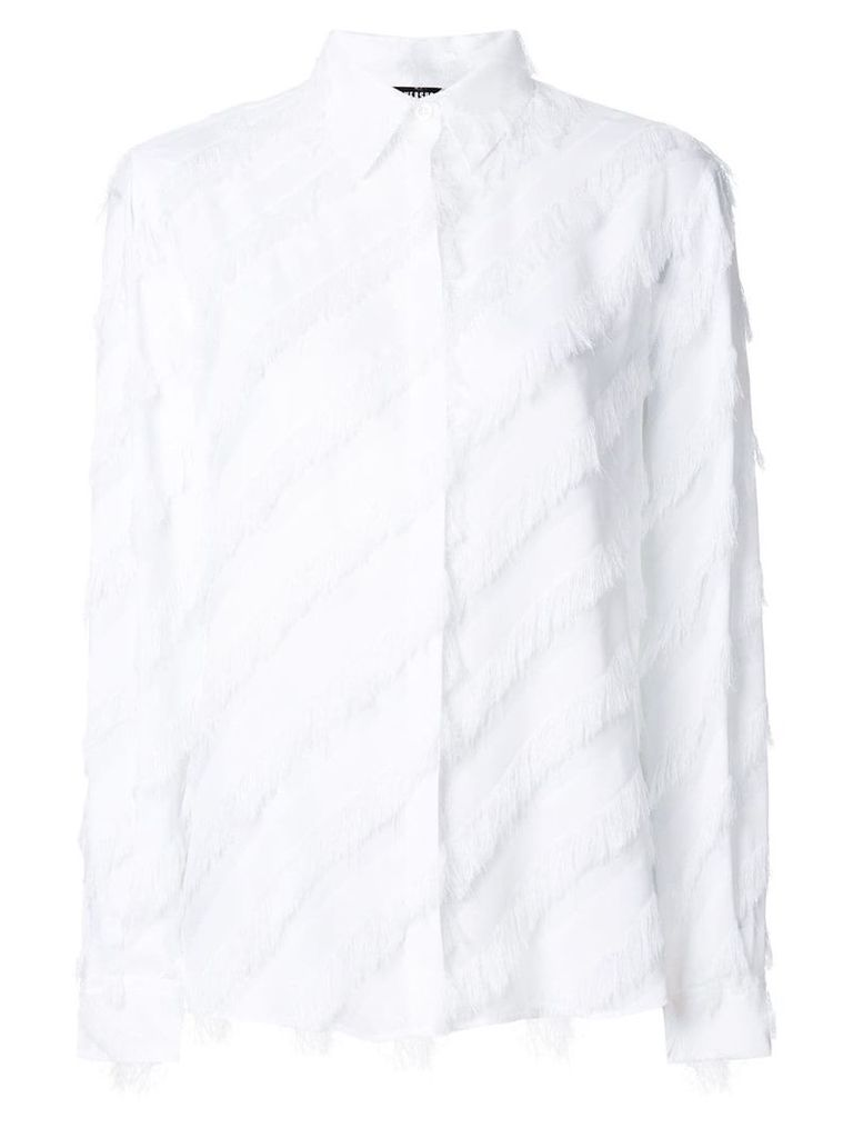 Versus fringed shirt - White