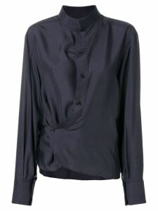 Lemaire layered shirt - Blue