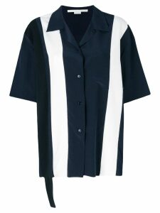 Stella McCartney Ink Reid contrasting shirt - Blue