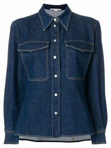 Stella McCartney Reina organic denim shirt - Blue