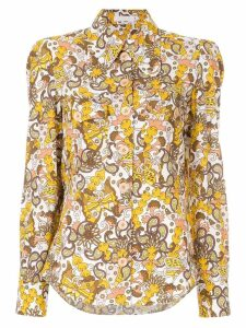 Chloé retro printed blouse - Multicolour