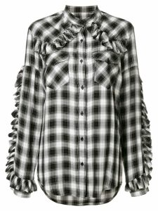 Forte Dei Marmi Couture checked shirt - Black