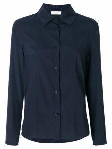 Le Tricot Perugia plain shirt - Blue