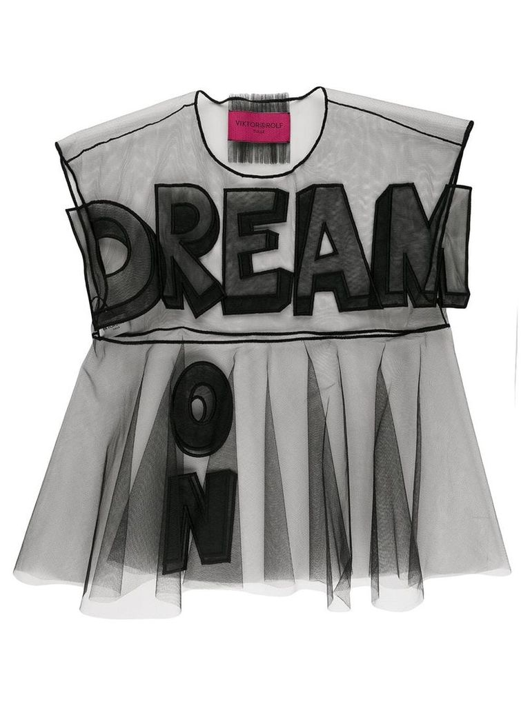 Viktor & Rolf Dream On. Icon 1.2 T-shirt - Black