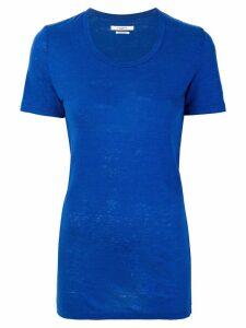 Isabel Marant Étoile linen T-shirt - Blue