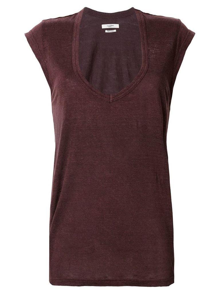 Isabel Marant Étoile cap sleeve T-shirt - Pink