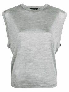Dsquared2 cap sleeve vest - Grey