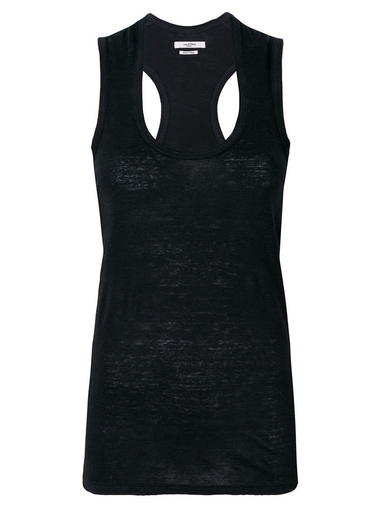 Isabel Marant Étoile racer-back tank top - Black