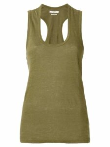 Isabel Marant Étoile racer-back tank top - Green