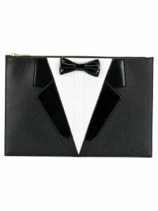 Thom Browne dinner suit clutch - Black