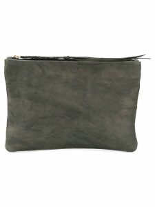 Caravana Chimalma clutch bag - Grey