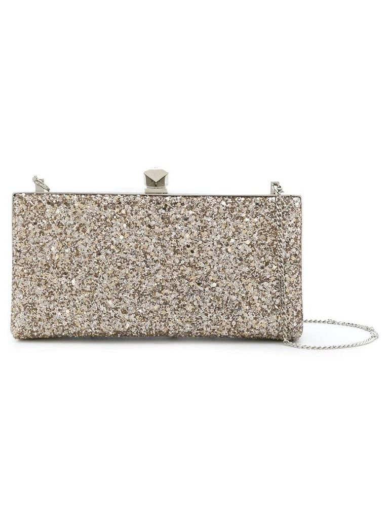 Jimmy Choo Celeste clutch - Metallic