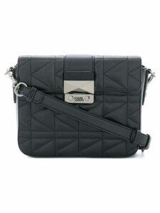 Karl Lagerfeld K/Kuilted cross body bag - Black